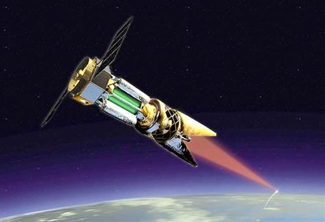 Laser spaziale atmosferico